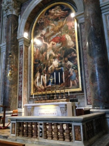 The Altar of the tomb of St. John Paul II
